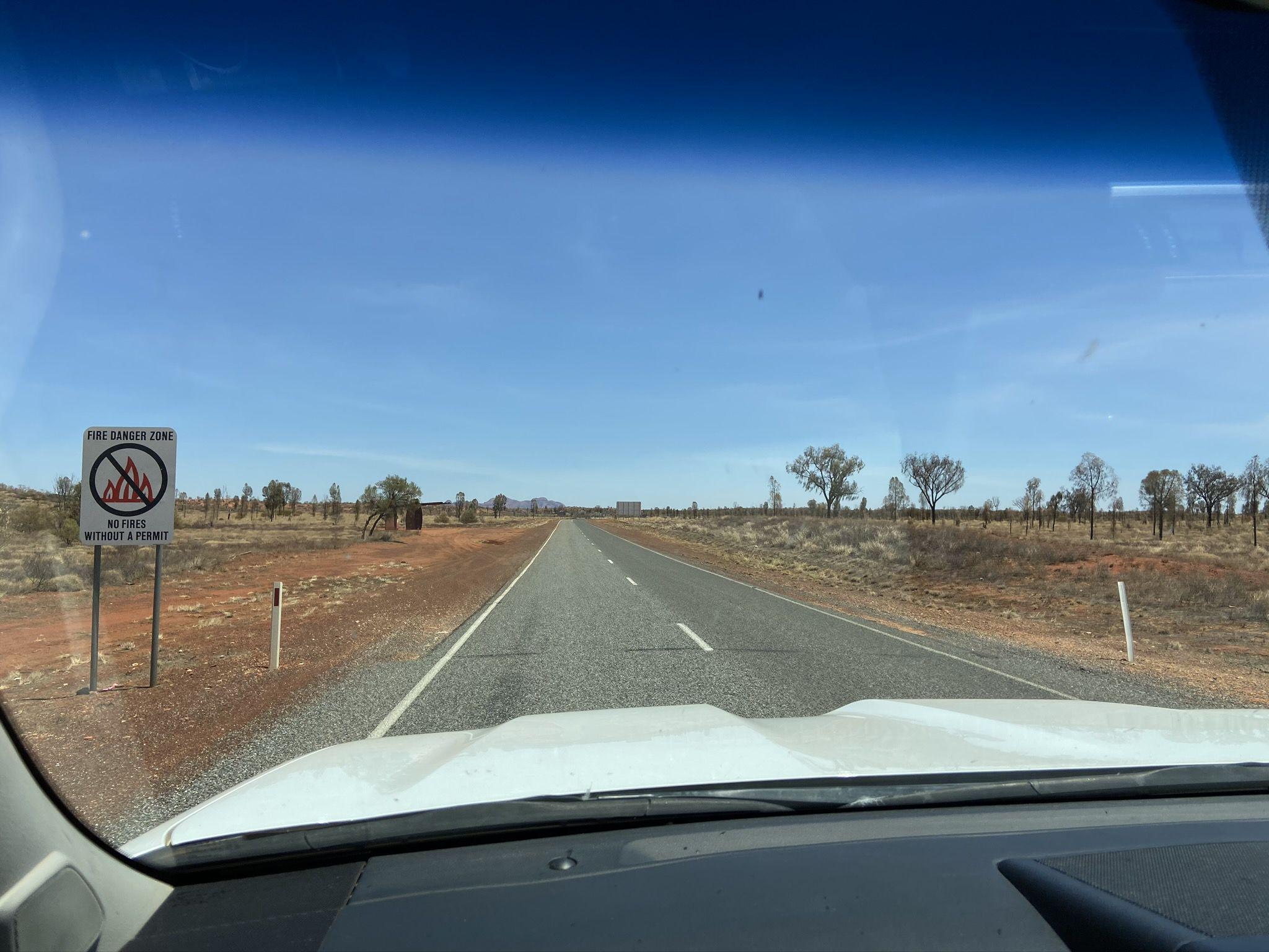 Fahrt Alice Springs nach Ayers Rock